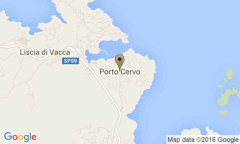 Google Map of Costa Smeralda, 07020 Porto Cervo
