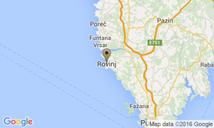 Google Map of 52210, Rovinj, Croazia