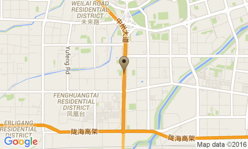 Google Map of No.1188 Zhongzhou Avenue, Jinshui District, 郑州市河南省 Cina, 450004